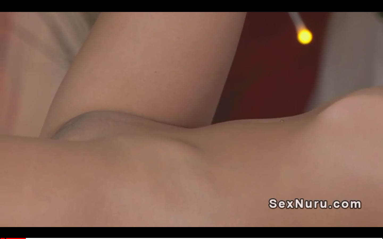 Blonde masseuse gives nuru massage
