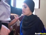 Broke Arab Girl Fucks Big Western Cock